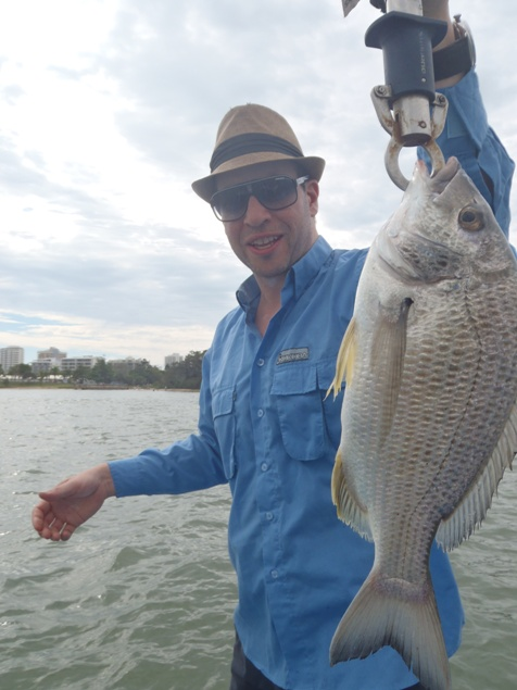 Simon_With_A_36cm_Maroochy_River_Bream_27-12-11