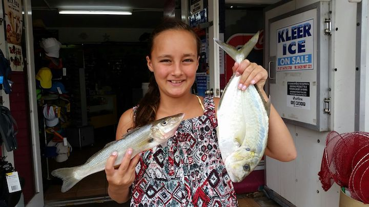 Summer Whybrow Whiting Trevally