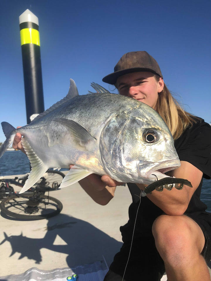 cameron fiesty Giant Trevally released